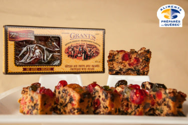 deluxe fruitcake with pecans
