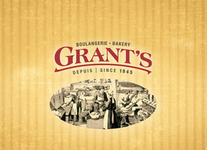 Grant's Bakery logo and background