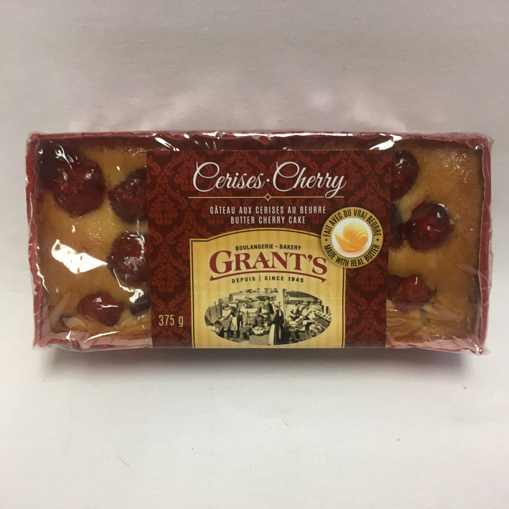 Butter Cherry cake, loaf, 375g