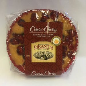 Butter Cherry cake, ring, 750g