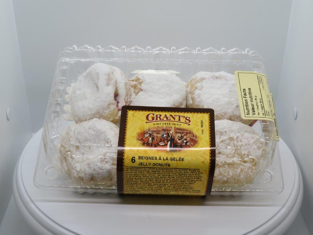 Filled donuts - Jelly, 6/pkg