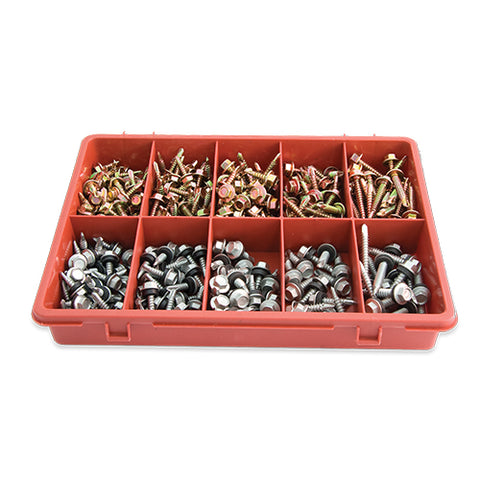 HEX HEAD SELF DRILLING METAL SCREWS