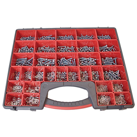 MACHINE SCREWS, NUTS & WASHERS