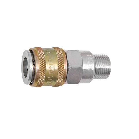 HIGH VOLUME ONE TOUCH COUPLINGS