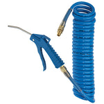 POLYURETHANE RECOIL HOSE AND BLOWGUN