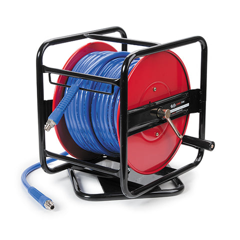 40M MANUAL WIND AIR HOSE REEL