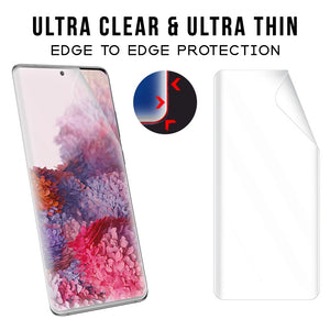 Galaxy S20 Ultra Screen Protector NANOTECH Screen Protector Film [3 Pack]