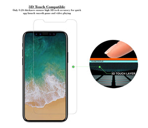 iPhone X Tempered Glass Screen Protector ProShield Edition