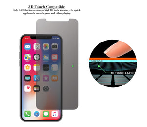 iPhone X  Privacy Tempered Glass Screen Protector ProShield Edition