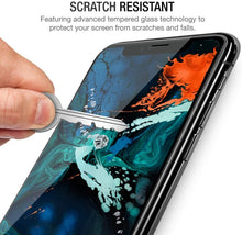Load image into Gallery viewer, iPhone XR Screen Protector Glass Full Cover ProShield Edition [2 Pack]
