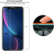 Load image into Gallery viewer, iPhone XR Tempered Glass Screen Protector ProShield Edition [ 3 PACK ]