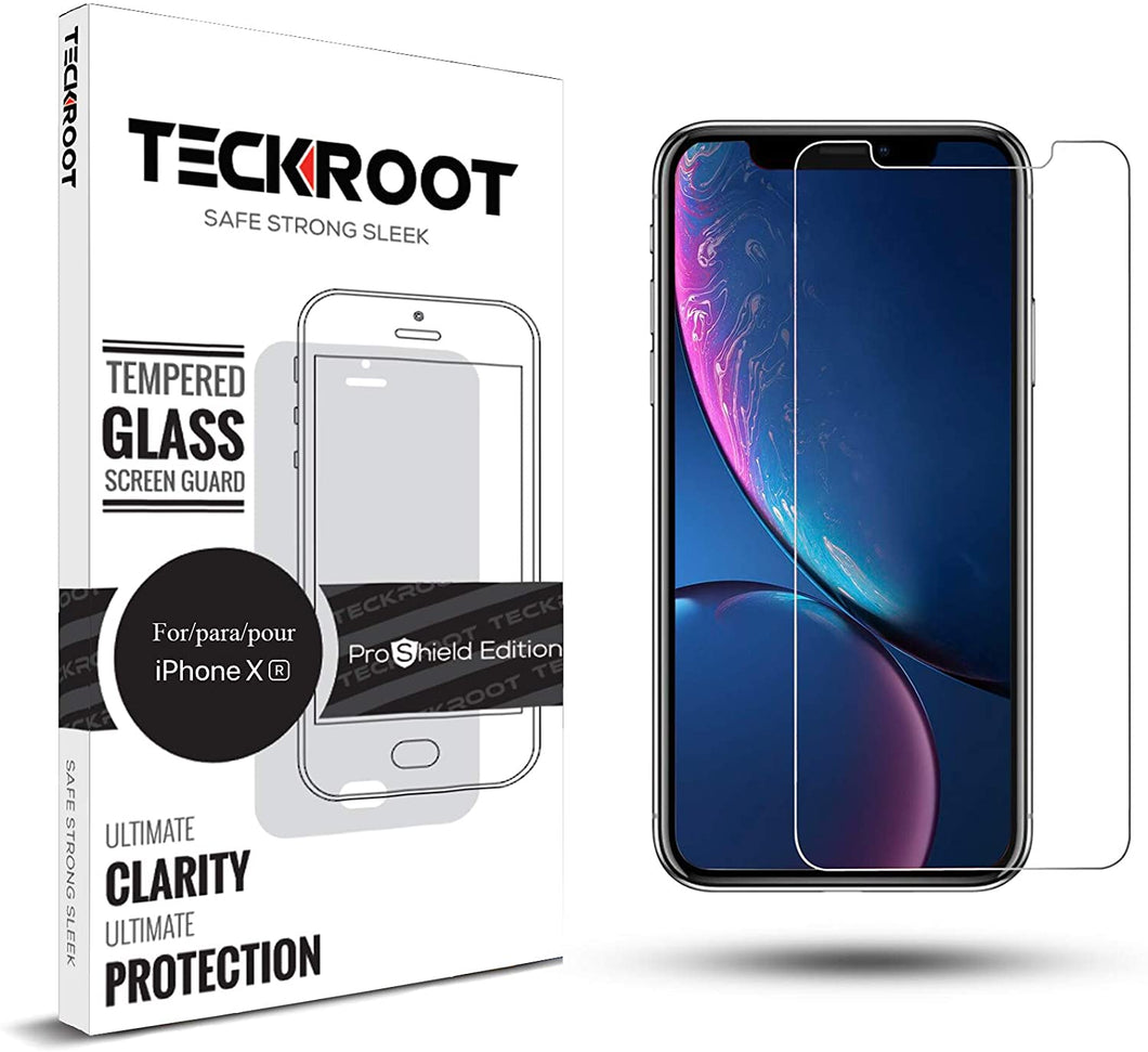 iPhone XR Tempered Glass Screen Protector ProShield Edition [ 3 PACK ]