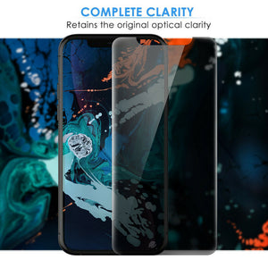 iPhone 11 Pro Privacy Tempered Glass Screen Protector ProShield Edition [2 Pack]