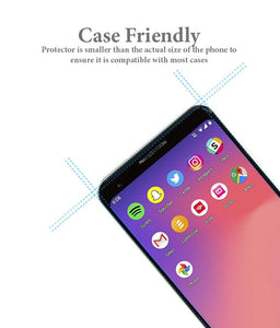 Pixel 3A Tempered Glass Screen Protector ProShield Edition [2 Pack]