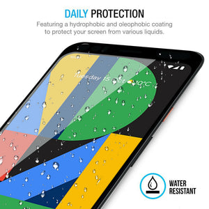 Pixel 4A Tempered Glass Screen Protector ProShield Edition [3 Pack]