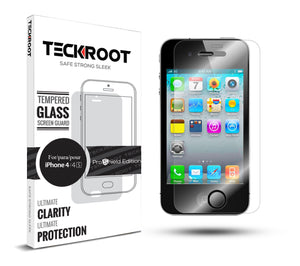 iPhone 4/4S Tempered Glass Screen Protector ProShield Edition