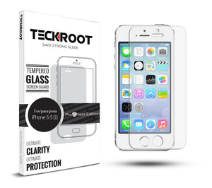 iPhone 5/5S/SE Tempered Glass Screen Protector ProShield Edition