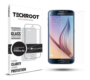 Galaxy S6 Tempered Glass Screen Protector ProShield Edition