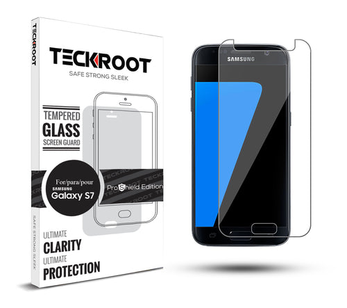 Galaxy S7 Tempered Glass Screen Protector ProShield Edition