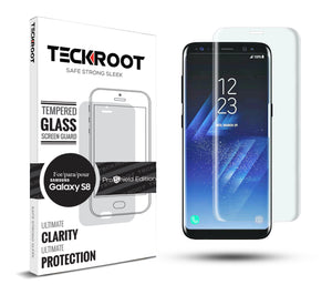 Galaxy S8 Tempered Glass Screen Protector ProShield Edition