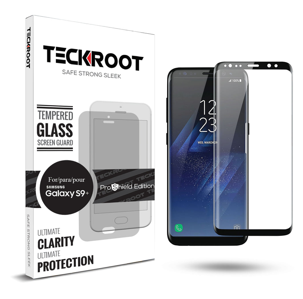 Galaxy S9 Plus Tempered Glass Screen Protector ProShield Edition