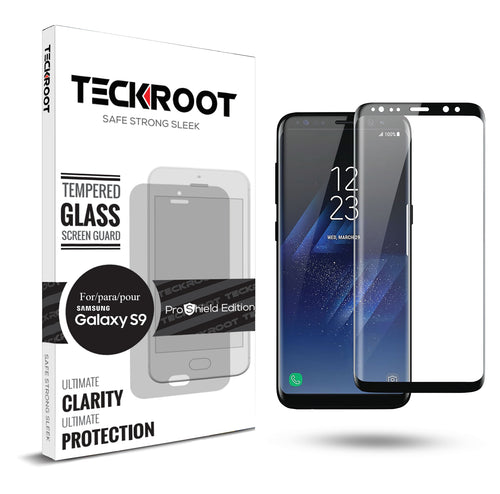 Galaxy S9 Tempered Glass Screen Protector ProShield Edition