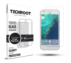 Google Pixel 2 XL Tempered Glass Screen Protector ProShield Edition