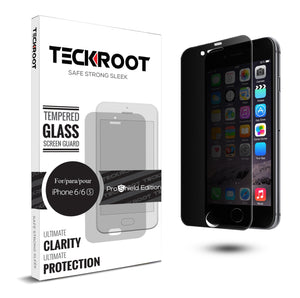iPhone 6/6S Privacy Tempered Glass Screen Protector ProShield Edition