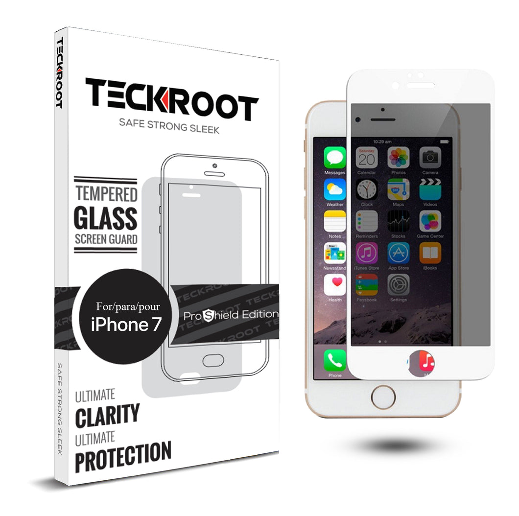 iPhone 7 Privacy Tempered Glass Screen Protector ProShield Edition