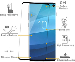 Galaxy S10 Plus Tempered Glass Screen Protector ProShield Edition [2 pack]