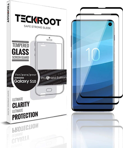 Galaxy S10 Tempered Glass Screen Protector ProShield Edition [2 pack]