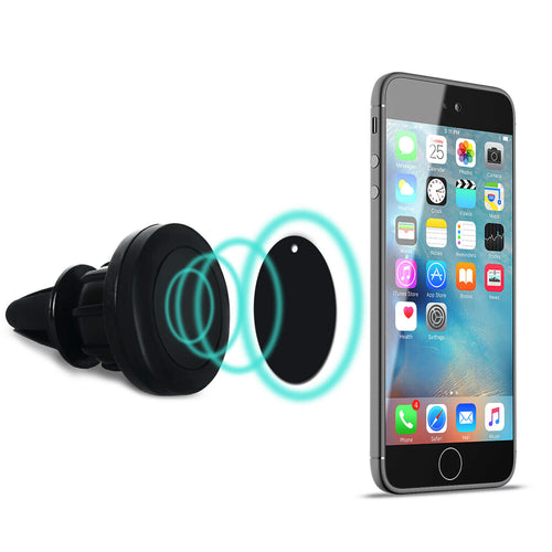 Universal Magnetic Air Vent Car Mount Holder For Phones And Tablets
