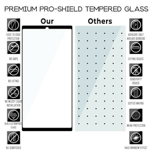 Galaxy Note 10 Tempered Glass Screen Protector ProShield Edition [2 Pack]