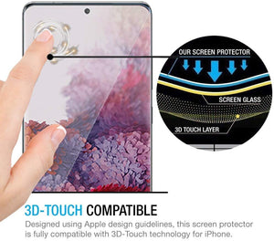 S20 Plus Tempered Glass Screen Protector ProShield Edition [2 pack]