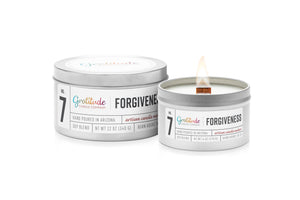 NO. 07 FORGIVENESS Wooden Wick Soy Blend Candle