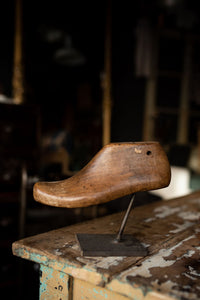 Mounted Shoe Last L