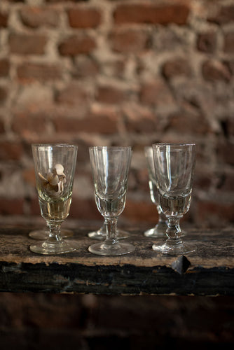Set of 6 French Wine glasses