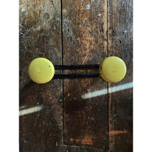 Load image into Gallery viewer, Yellow Deco Style Coat Hooks