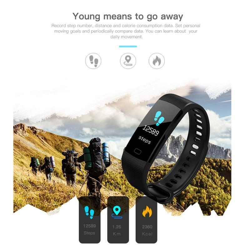 0.96 Inch Screen Smart Wristband - 60%OFF!