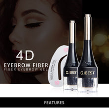 Load image into Gallery viewer, 4D Fiber Eyebrow Gel
