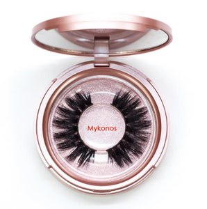 3D Magnetic Eyelashes With Waterproof Eyeliner