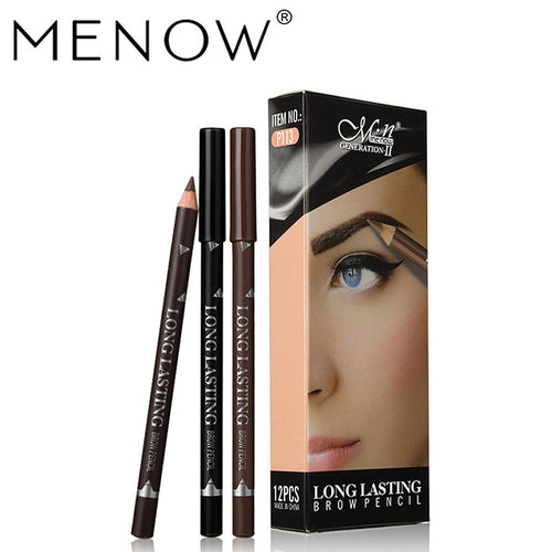 Waterproof Eyeliner Pencil: Black - Dark Brown - Brown