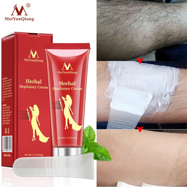 Unisex Herbal Hair Removal Cream