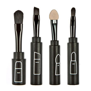 4-Piece Professional Brush Set