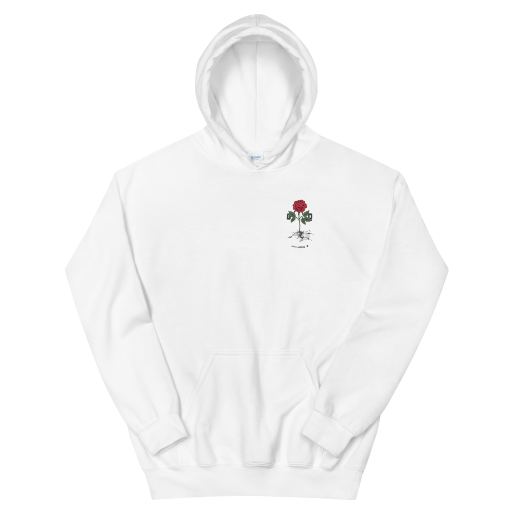 Rose from Concrete Signature Hoodie - Ext Sizes 3XL - 5XL