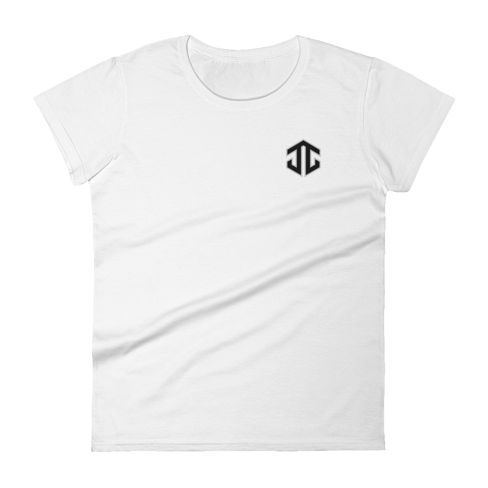 Josh Jacobs Logo Women's Fitted Tee