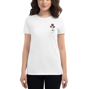 Rose from Concrete Women's Fitted Tee