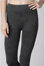Load image into Gallery viewer, PERFORATED SIDE WASHED LOOK ATHLETIC PANTS