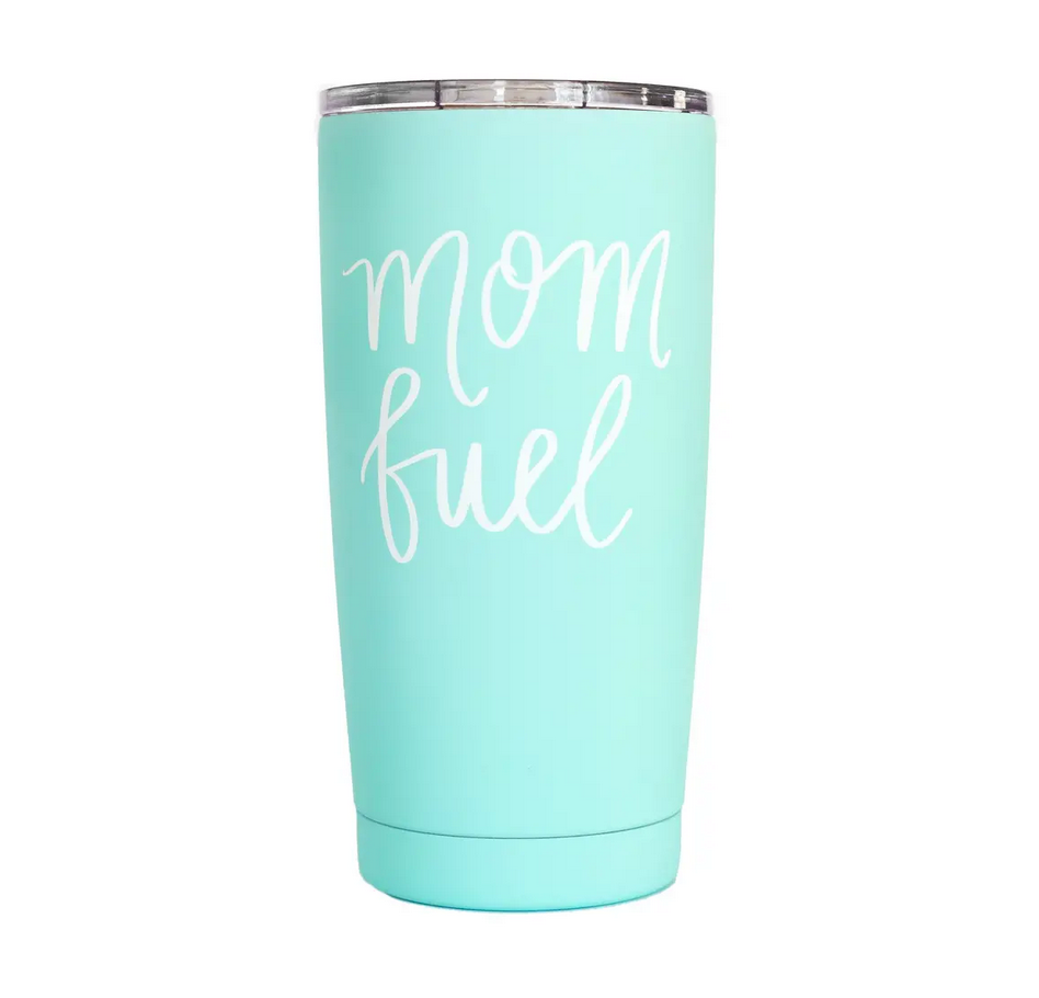 Mom Fuel Metal Travel Mug