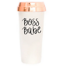 Load image into Gallery viewer, Boss Babe Travel Mug